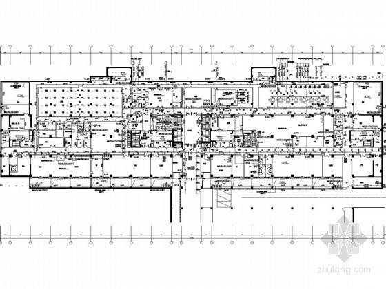 [河北]医院病房楼给排水施工图纸(直饮水系统 室内供氧吸引系统)