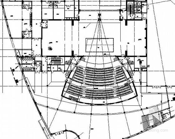 [吉林]大型剧院采暖通风设计施工图(座椅下送风上回风 低温辐射采暖)