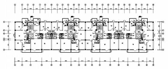 河北省某十二层住宅楼给排水图