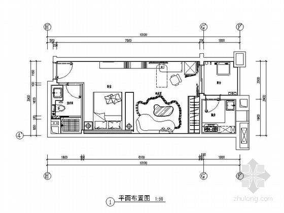[广州]南湖某花园洋房A户型室内装修图(含选材表)