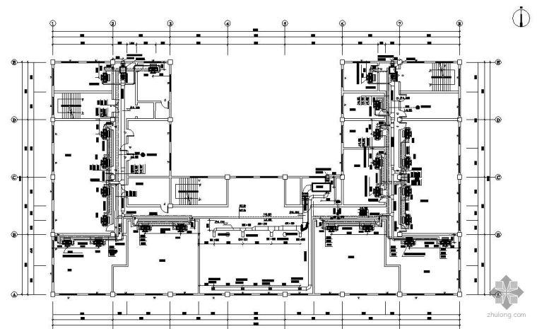 杭州市人民政府办公楼空调工程毕业设计