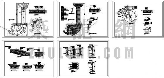 某双庭广场景观施工图-3
