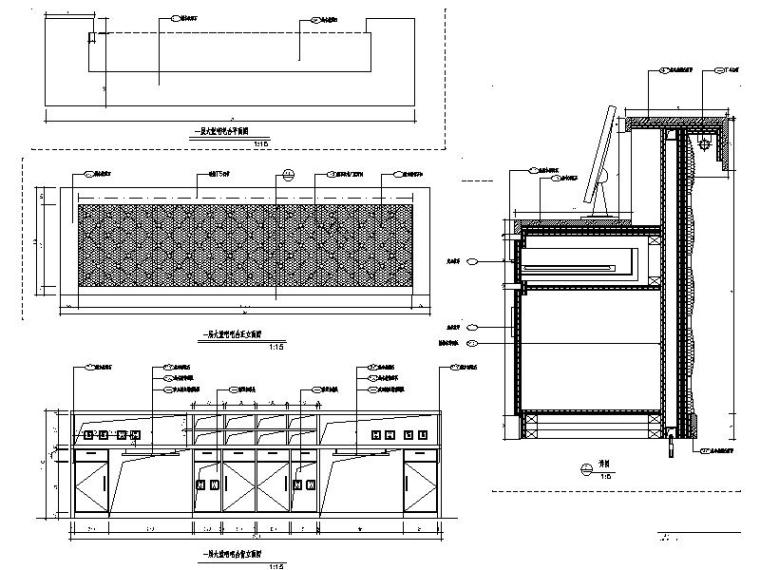 [安徽]欧式奢华花园酒店设计立面图