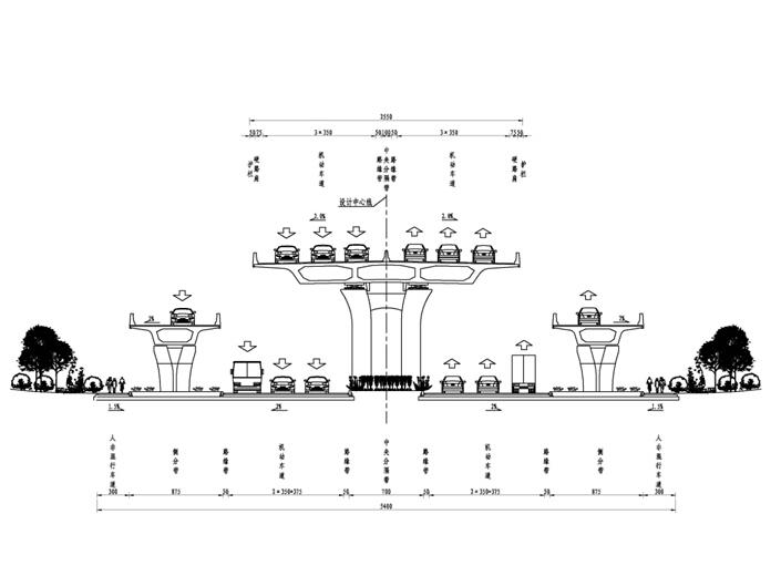 城市高架桥工程边施工边通车安全专项方案