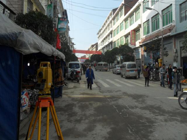 [重庆]路幅宽6.5m~9.0m市政道路白改黑加罩设计图纸30张