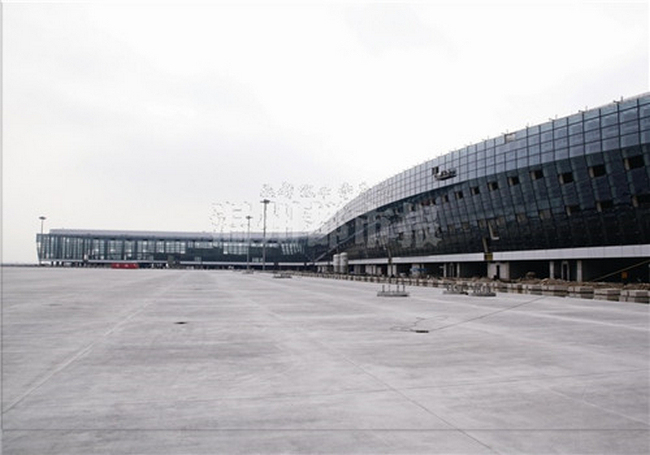 温州龙湾国际机场T2航站楼过年不停工,预计8月底竣工使用