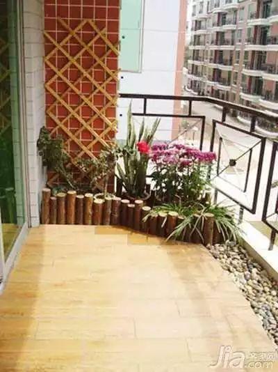 """158款·精致阳台改造案例,小阳台也有""""花园梦""""!_104"""
