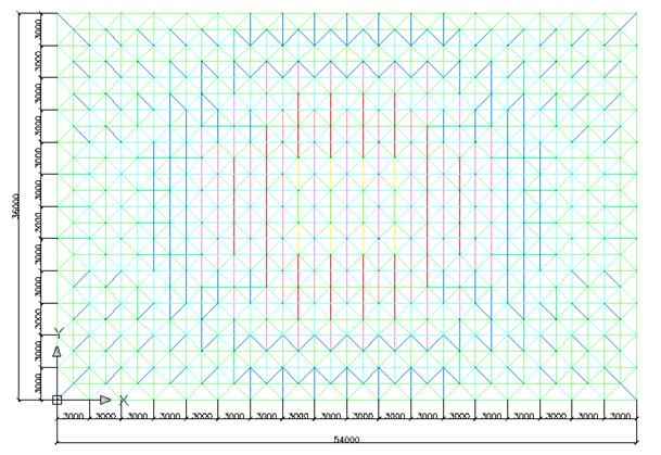 网架结构设计毕业设计