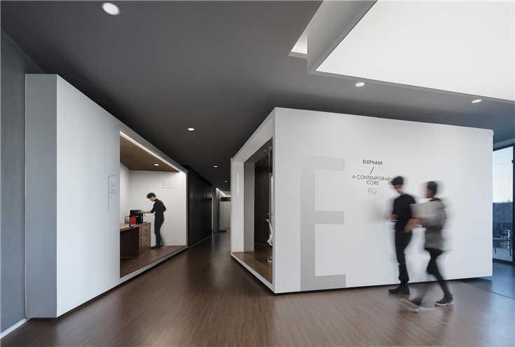 北京大象群文化传媒办公设计