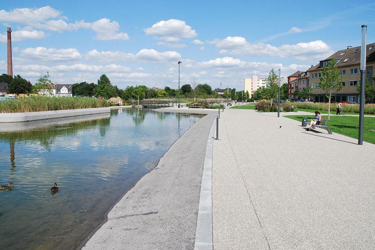 德国埃森大学公园景观设计_4