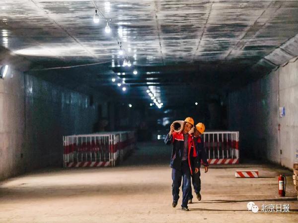 """地下""""巨无霸""""-北京城市副中心综合管廊"""