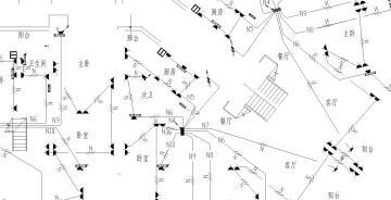 某综合楼电气施工图全套图纸