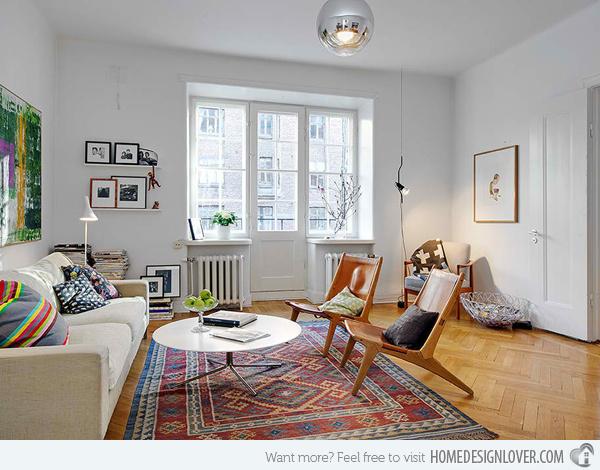 20个时尚的客厅装修设计案例_1