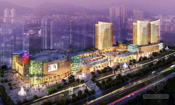 [黑龙江]30万平购物广场城市综合体建筑结构施工图