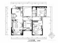 [原创]地中海风格三居室室内二次装修改造施工图