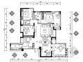 [原创]武汉脱俗欧式风格别墅设计施工图(含高清效果图及方案设计)
