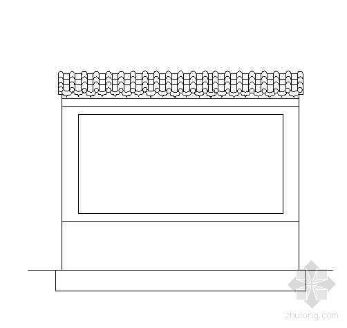 砖砌标牌施工图