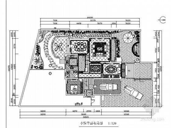[天津]家装别墅设计CAD装修施工图