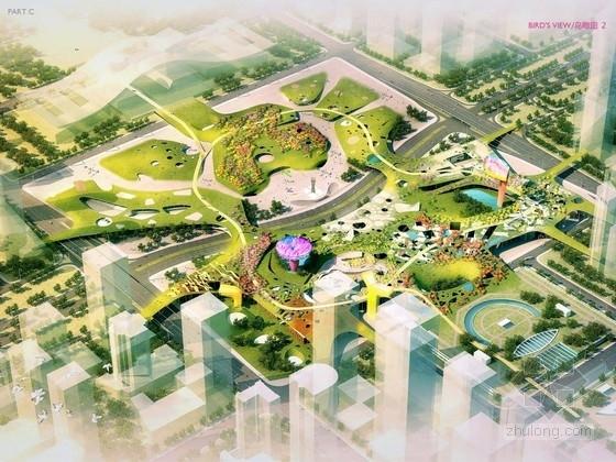 [深圳]活力都市商业中心景观规划设计方案