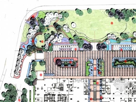 [浙江]高档大气五星级酒店景观深化设计方案(知名设计)