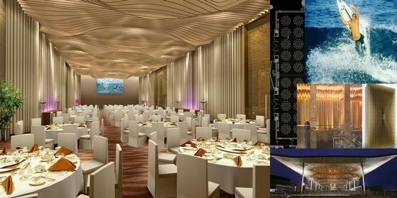 [深圳]全资跨地域国际化现代酒店设计方案图宴会厅效果图
