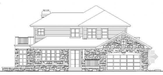 [香格里拉]某二层别墅建筑施工图