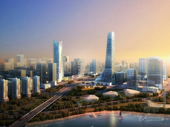 [广东]佛山金融区城市设计规划方案文本