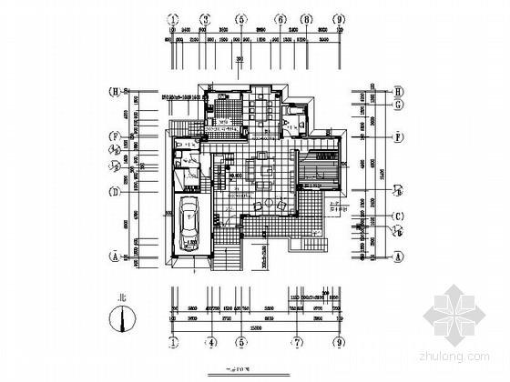时尚现代风格两层别墅装修图(含效果图)