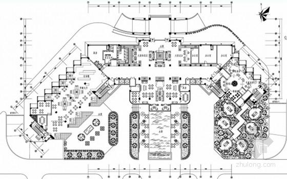 [海南]现代风格中医疗养院室内装饰设计方案
