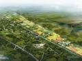 [江苏]田园生态湖泊型度假旅游区景观概念性规划设计