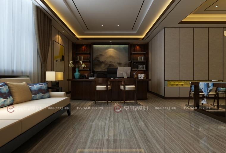 沈阳地产公司办公室设计效果图震撼来袭-13.jpg