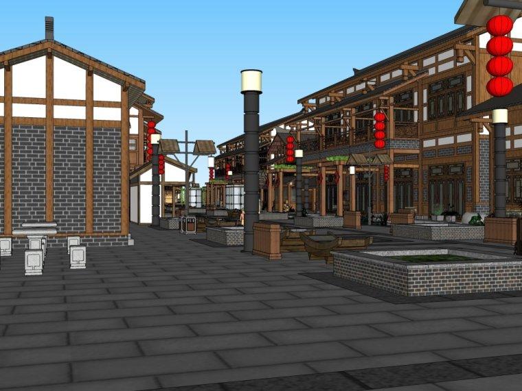 传统商业街+中式风格建筑商业街设计.skp-20150731_175917_288