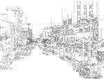 建筑钢笔手绘表现技法