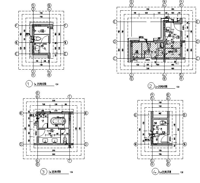 [知名地产]17栋联排式及独栋别墅建筑施工图合集-[合集]17栋知名地产联排式及独栋别施工图(16年含结构专业)_9