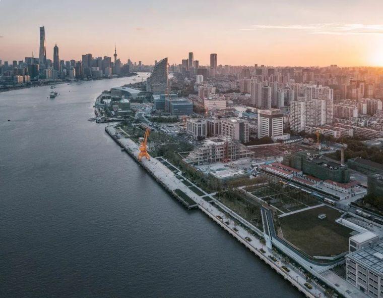 源自工业遗存的绿道丨杨浦滨江公共空间二期设计