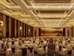 欧式酒店宴会厅3D模型下载
