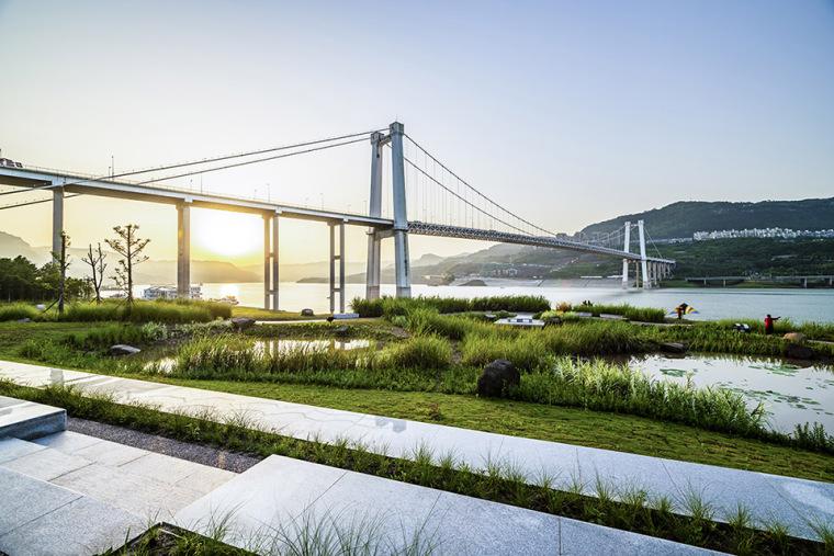 重庆万州长江二桥滨水生态公园-4