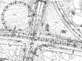 城市道路改造工程施工图设计367张(道路,交通)