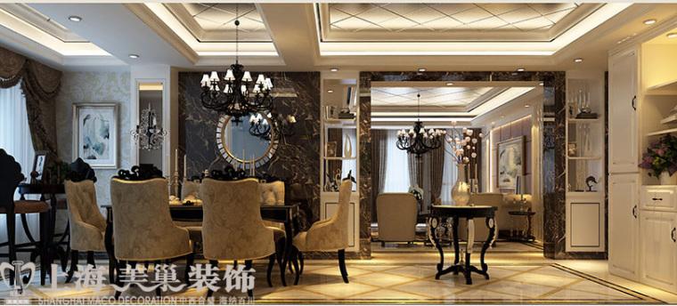 天怡佳苑130平唯美三室装修,平和而富有内涵贵族身份