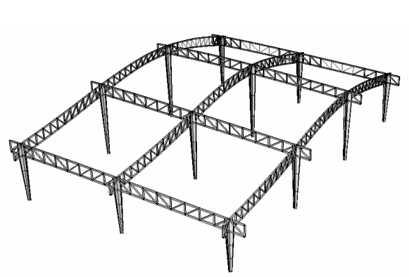 深圳机场T3航站楼钢结构超限审查报告(结构分析:大厅,PDF,37页)_3