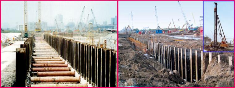 《挡土结构与基坑工程》第五章SMW围护结构的设计和施工培训PPT