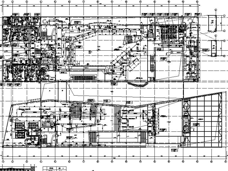 安徽古生物博物馆暖通系统施工图