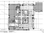 [上海]外滩国际金融服务中心办公室内装CAD施工图+方案文本