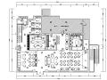 工业风格复古loft酒吧咖啡厅设计施工图(附效果图)