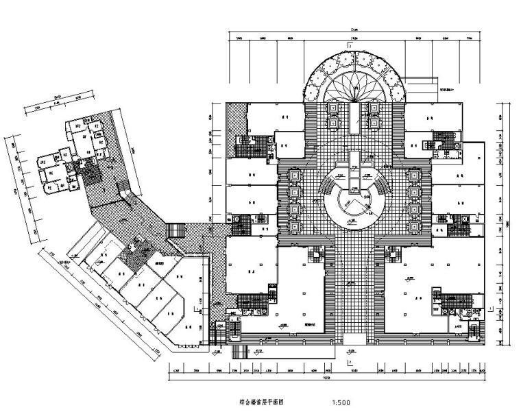 [湖南]湖南华银园小区建筑施工图设计(澳大利亚柏涛)