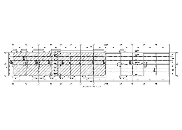 [南沙]单层钢混框架结构动力用房结构施工图