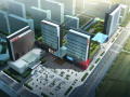 [山西]万达广场商业综合体公寓、酒店外立面及外部空间建筑设计