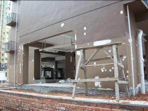 外墙涂料施工细节处理注意事项
