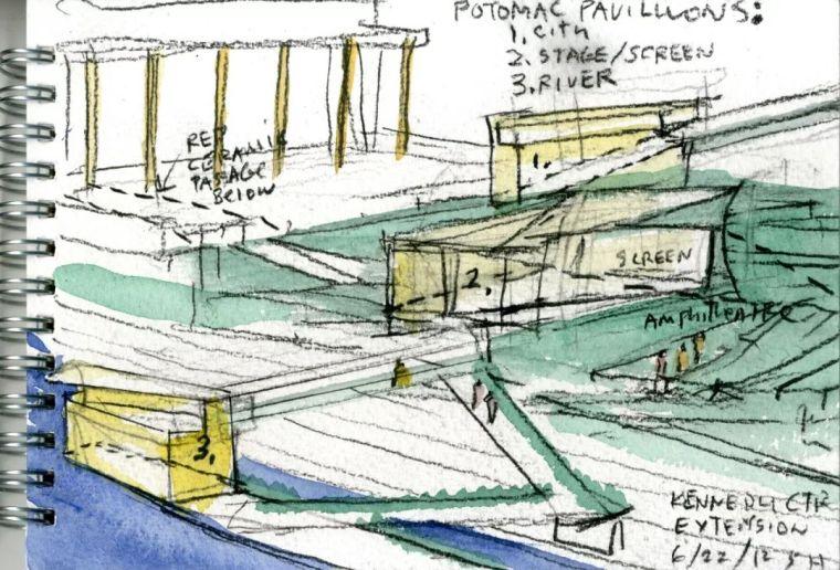 斯蒂文·霍尔在中国的首个作品展,向我们摊开了他个人的手绘本_8