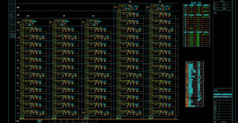 住宅楼弱电安装工程量清单计价实例---有图-弱电系统图